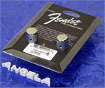 Fender '58 Tele Knurled Chrome Knobs